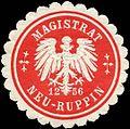 Siegelmarke Magistrat Neu - Ruppin 1256 W0212416.jpg