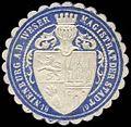 Siegelmarke Magistrat der Stadt Nienburg an der Weser W0259972.jpg