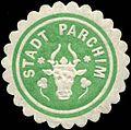 Siegelmarke Stadt Parchim W0314429.jpg