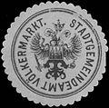 Siegelmarke Stadtgemeindeamt Völkermarkt W0333064.jpg