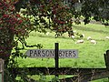 Sign at Parson Byers - geograph.org.uk - 251724.jpg