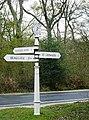 Signpost at Salternshill - geograph.org.uk - 757442.jpg