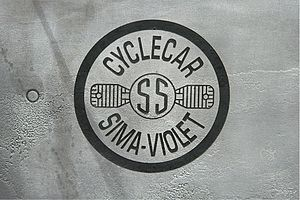 SIMA-Violet - Image: Sima Violet (Logo), Baujahr um 1924 (2008 06 28)