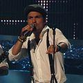 Simon Mathew, Denmark, Eurovision 2008, 2nd semifinal (cropped).jpg