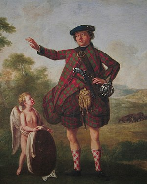 Royal Medical Society - Detail of painting of Dr Sir Stuart Threipland, of Fingask (1716-1805); Bonnie Prince Charlie's physician during the Rising, and President of the Royal Medical Society (1766-1770).