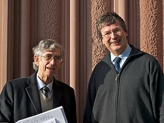 Colin Mawby - Colin Mawby and Gabriel Dessauer at St. Bonifatius, 2011