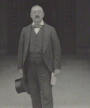 Edmund Broughton Barnard - Edmund Broughton Barnard MP photographed by Benjamin Stone in 1909