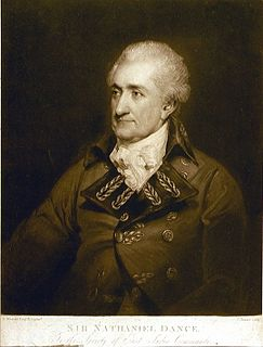 Nathaniel Dance officer of the Honourable East India Company