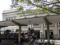 Sitio de llegada del tren en la Estación del Ferrocarril Medellín -Cisneros.JPG