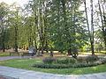 Skwer z kamieniem węgielnym osiedla Nasz Dom (Za Torem) w Tarnowie-Mościcach, ul. Obronców Lwowa (-) 5 pavw.JPG