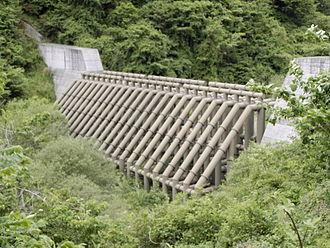 Check dam - A steel check dam