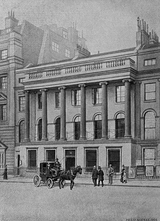 Smith, Elder & Co. - Image: Smith Elder Waterloo Place
