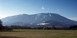 Smrk (Moravian-Silesian Beskids, CZE) - mountain in early spring.jpg