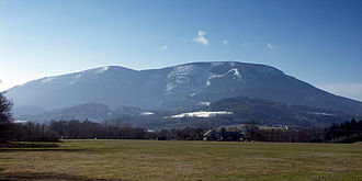Moravian-Silesian Beskids - Smrk mountain in early spring