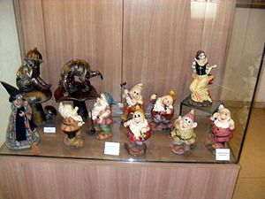 İzmir Toy Museum - Snow White and the Seven Dwafs