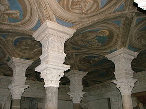 Acerenza Cathedral - Image: Soffitto Cripta Di Acerenza
