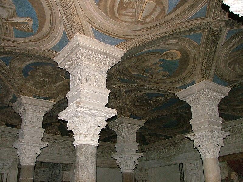 File:Soffitto Cripta Di Acerenza.JPG