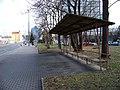 Sokolovská, sídliště Invalidovna, starý přístřešek.jpg