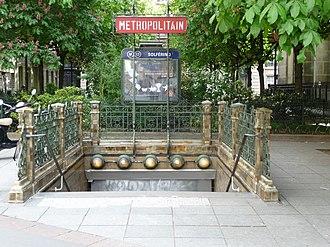 Solférino (Paris Métro) - Image: Solférino entrance