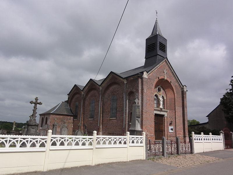 Sommeron (Aisne) église, latéral