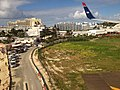 Sonesta Hotel and Islander Club at the end of the runway at Princess Juliana International Airport SXM, Sint Maarten - panoramio.jpg