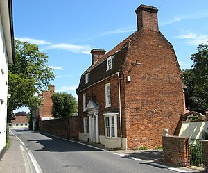 Margery Allingham - South Street, Tolleshunt D'Arcy, Allingham and Carter lived in the far house