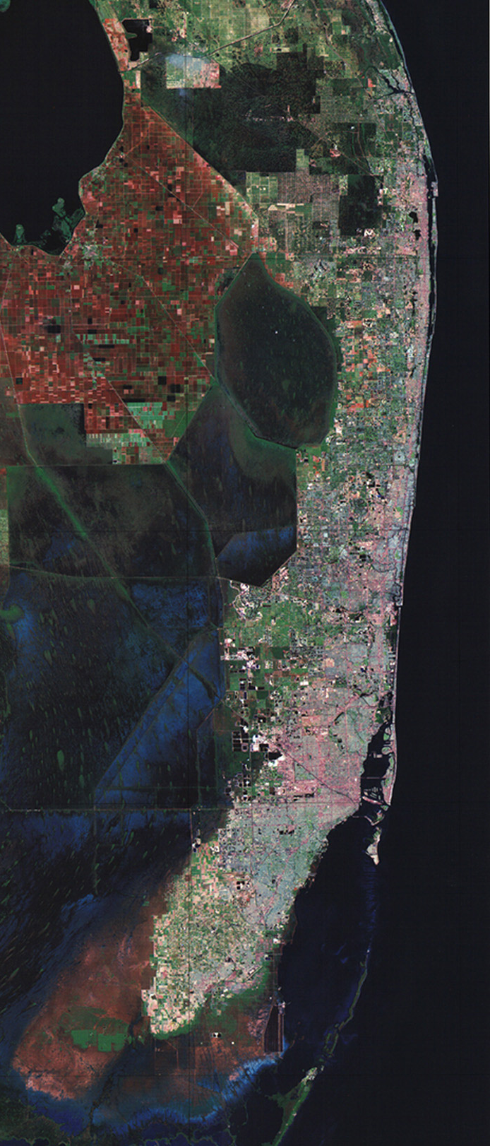 South florida satellite image cut from wiki