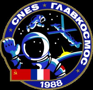 Sergei Krikalev - Image: Soyuz TM 7 patch