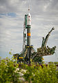 Soyuz TMA-04M rocket on the launch pad.jpg