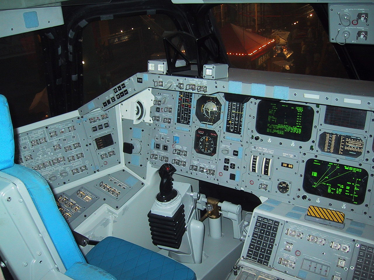 space shuttle home cockpit - photo #16