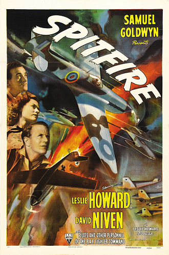 The First of the Few - Poster for the U.S. release version, Spitfire