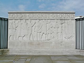Relief Sculpture At Lords Cricket Ground
