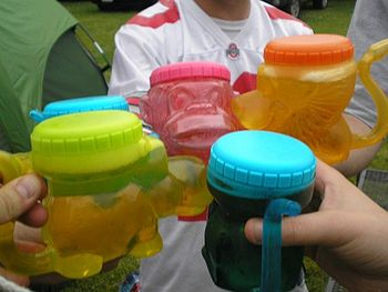 English: Typical Sippy Cup Safari cups