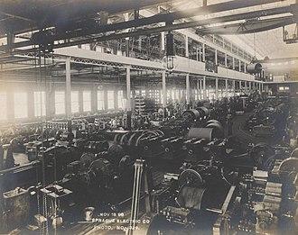 Frank J. Sprague - Sprague Electric Company, 1898