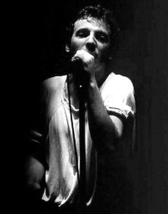 The River Tour - Springsteen in concert on The River Tour.  Drammenshallen, Drammen, Norway.  5 May 1981.