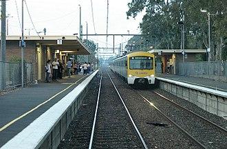 Noble Park, Victoria - Noble Park Station