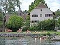 Stäfa - Uerikon - Ritterhäuser und Kapelle - Dampfschiff Stadt Rapperswil 2014-07-05 17-27-27 (P7800).JPG