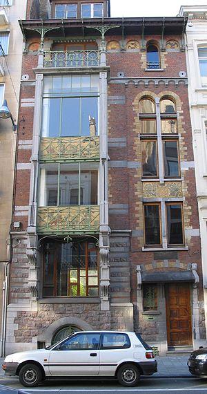 Paul Hankar - Maison Hankar (1893), Brussels.