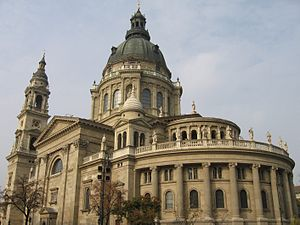Dome - St. Stephen's Basilica in Budapest