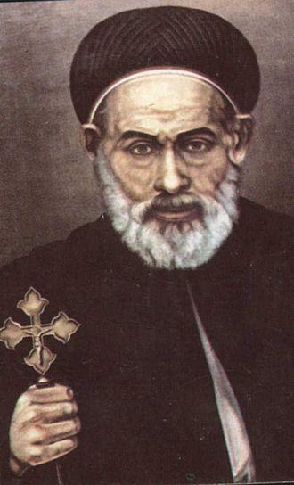 Abraam, Bishop of Faiyum - Image: St Abram icon