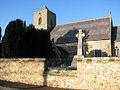 St Andrew's church and war memorial - geograph.org.uk - 1634048.jpg