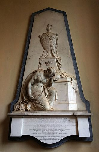 George Coventry, 6th Earl of Coventry - Image: St Mary Magdalene, Croome, Worcs 6th Earl of Coventry wall tablet 1