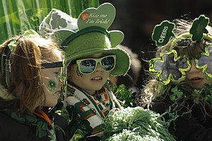 St Patricks Day Parade Montreal