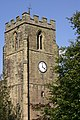St Peters Church, Church Tower, Upper part - geograph.org.uk - 1543662.jpg