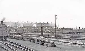 St. Rollox railway works - St Rollox Works and Depot, 1948