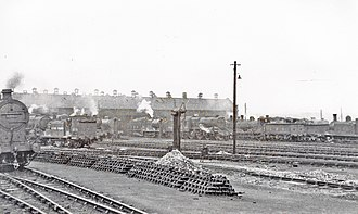 Glasgow Works - St Rollox Works and Depot, 1948