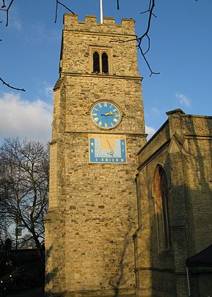 Putney Debates - Church of St. Mary the Virgin, Putney, where the Putney Debates were held