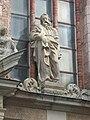 St peters church riga statue above door.jpg