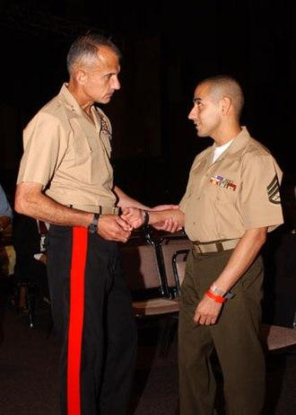 Eric Alva - Image: Staff Sergeant Eric Alva 2003 06 13