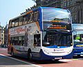 Stagecoach in Newcastle bus 19442 Alexander Dennis Trident 2 Enviro 400 NK58 FNG in Newcastle 25 April 2009.JPG